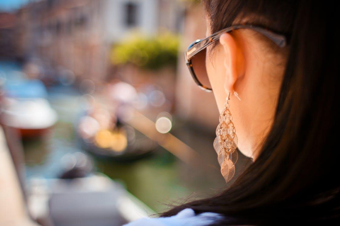 zilveren oorbellen plaatje